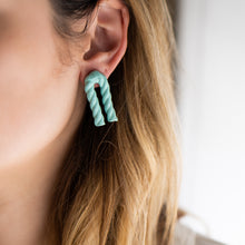 Load image into Gallery viewer, Bent Twizzle Earrings