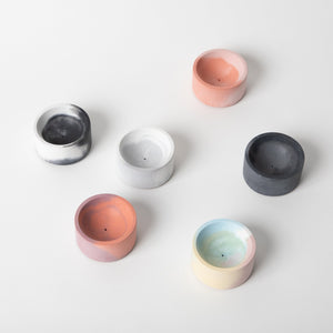 Incense Holders (Round) - Marbled