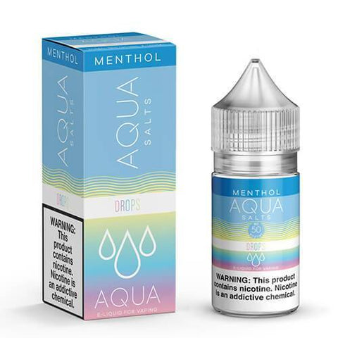 Aqua Menthol Salt - Drops E-Liquid