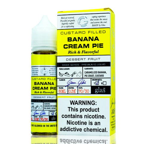 Basix - Banana Cream Pie E-Liquid