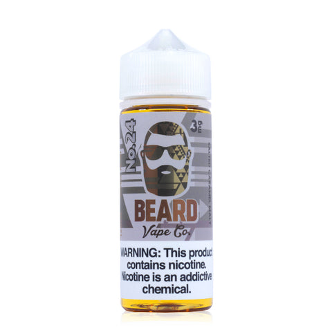 Beard Vape Co - No. 24 E-Liquid | 120ml
