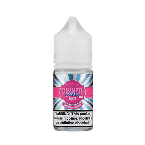 Dinner Lady Salt - Strawberry Macaroon E-Liquid