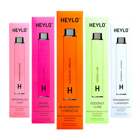 Heylo Vaporizer Disposable | 800 Puffs | 0% Nicotine