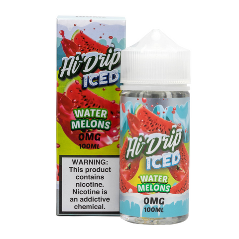 Hi-Drip - Melon Patch ICED (Water-Melons ICED) E-Liquid