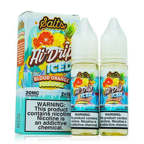 Hi-Drip - Blood Orange Pineapple Iced Salt E-Liquid