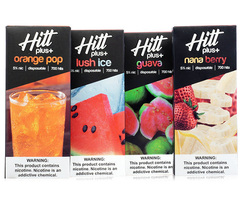 Hitt Plus Disposable | 700 Puffs