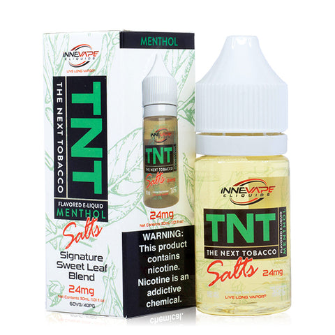 Innevape - TNT The Next Tobacco Menthol Salt E-Liquid