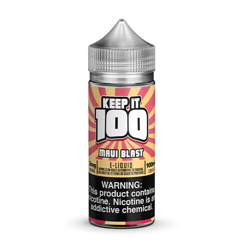 Keep It 100 - Maui Blast (Tropical Blast) E-Liquid