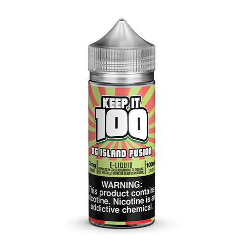 Keep It 100 - OG Island Fusion (KiBerry Killa) E-Liquid