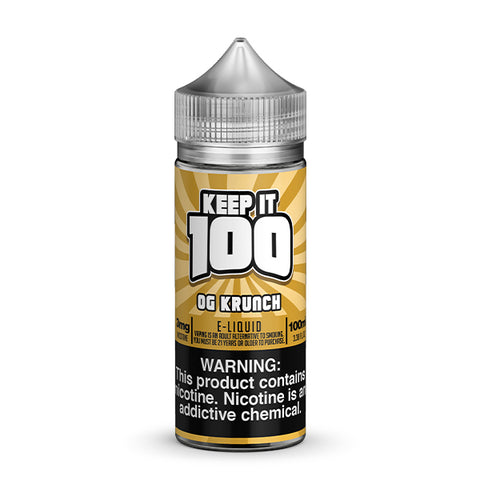 Keep It 100 - OG Krunch (Krunchy Squares) E-Liquid