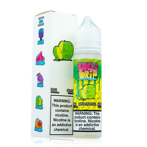 Lollidrip - Sour Apple E-Liquid