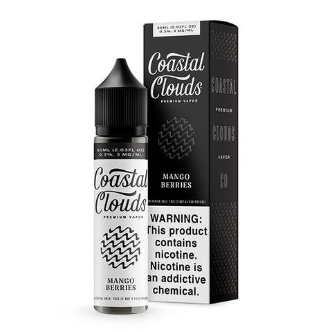 Coastal Clouds - Mango Berries E-Liquid