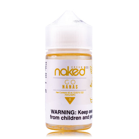 Naked 100 Cream  - Banana E-Liquid (Formerly Go Nanas)