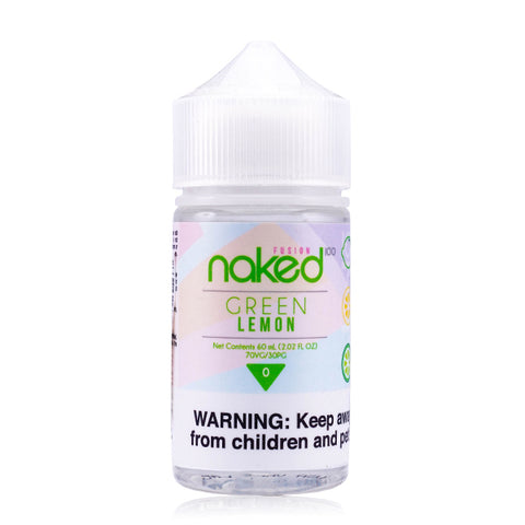 Naked 100 Fusion  - Lemon E-Liquid (Formerly Sour Sweets / Green Lemon)