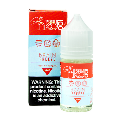 NKD 100 Salt - Strawberry Pom E-Liquid (Formerly Brain Freeze)
