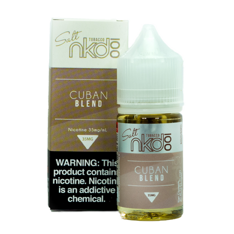 NKD 100 Salt - Cuban Blend E-Liquid
