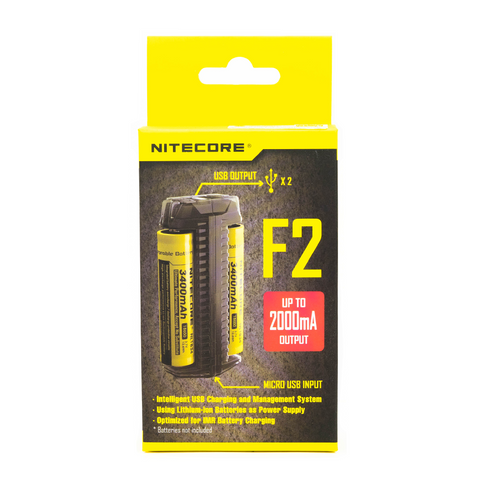 Nitecore - F2 Flex Slot Power Bank Outdoor Charger