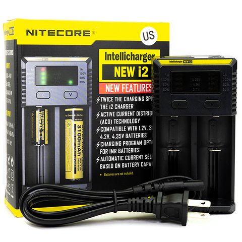 Nitecore - i2 Intellicharger Battery Charger