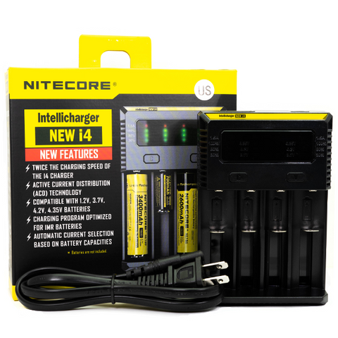 Nitecore - i4 Intellicharger Battery Charger