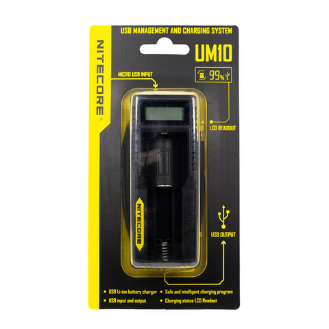 Nitecore - UM10 Digital Smart Charger