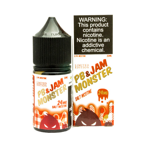 Jam Monster Salts - Strawberry PB & J E-Liquid