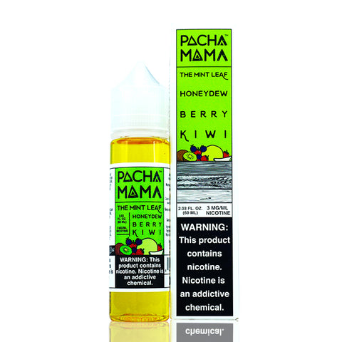 Pachamama - Honeydew Berry Kiwi (The Mint Leaf) E-Liquid