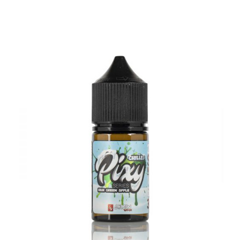 Pixy Salts - Sour Green Apple Chilled E-Liquid