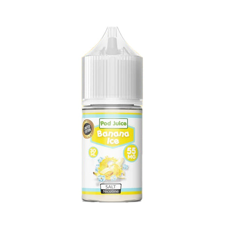 Pod Juice - Banana Ice Salt E-Liquid