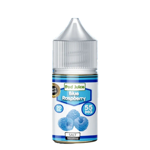 Pod Juice - Blue Raspberry Salt E-Liquid
