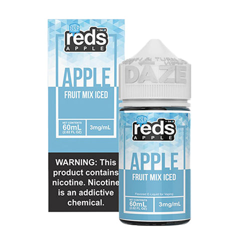 7 Daze - Reds Fruit Mix ICED E-Liquid