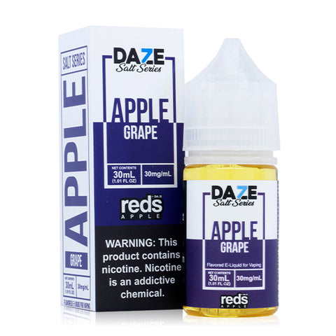 7 Daze Salt - Reds Grape E-Liquid