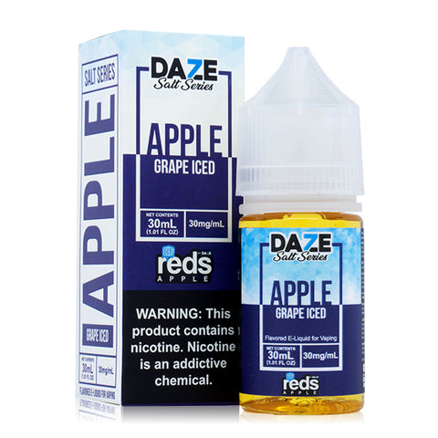 7 Daze Salt - Reds Grape Iced E-Liquid
