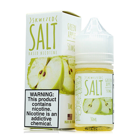 Skwezed Salt - Green Apple E-Liquid