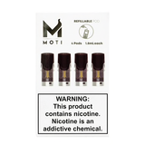 MOTI - Vape Refillable Pods | 4-Pack
