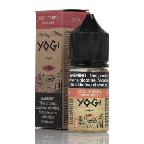 Yogi Farms Salt - Pomegranate E-Liquid