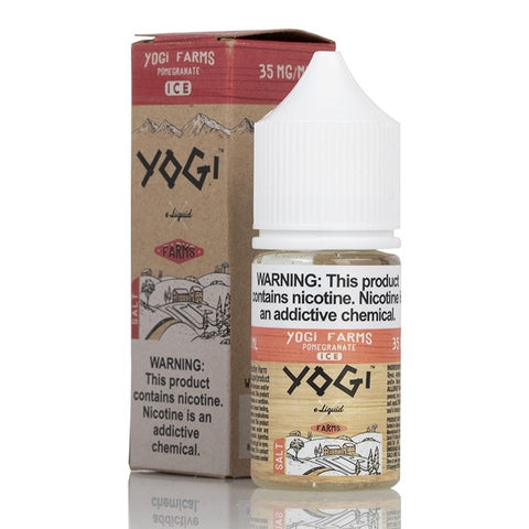Yogi Farms Salt - Pomegranate Ice E-Liquid