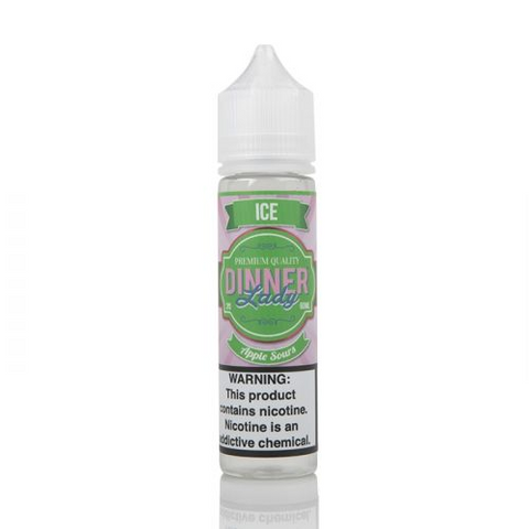 Dinner Lady Tuck Shop - Apple Sours Ice E-Liquid