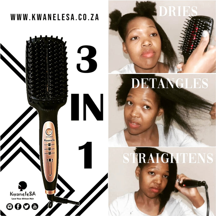 Getting to know Kwanele Afro Hair Straightening Brush