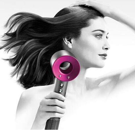 Supersonic hair dryer 4 accessories US plug purple/red/white/black/fuchsia