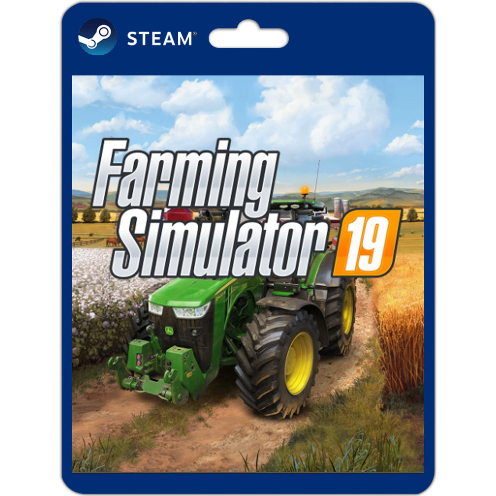 Farming Simulator 19 original PC steam game download play offline