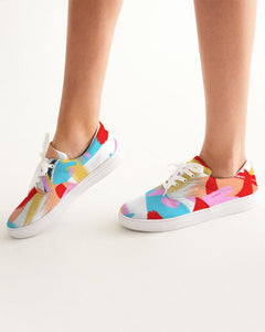 Vivid - Lace Up Canvas Shoe - Manda Baby