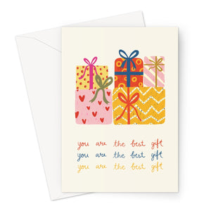 You are the best gift Greeting Card - Manda Baby