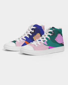 Panther - Women's Hightop Canvas Shoe - Manda Baby