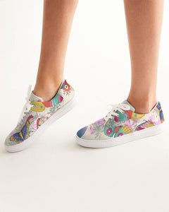 Butterfly - Lace Up Canvas Shoe - Manda Baby