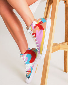 Vivid - Hightop Canvas Shoe - Manda Baby