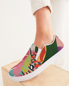 Hummingbird - Women Slip-On Canvas Shoe - Manda Baby