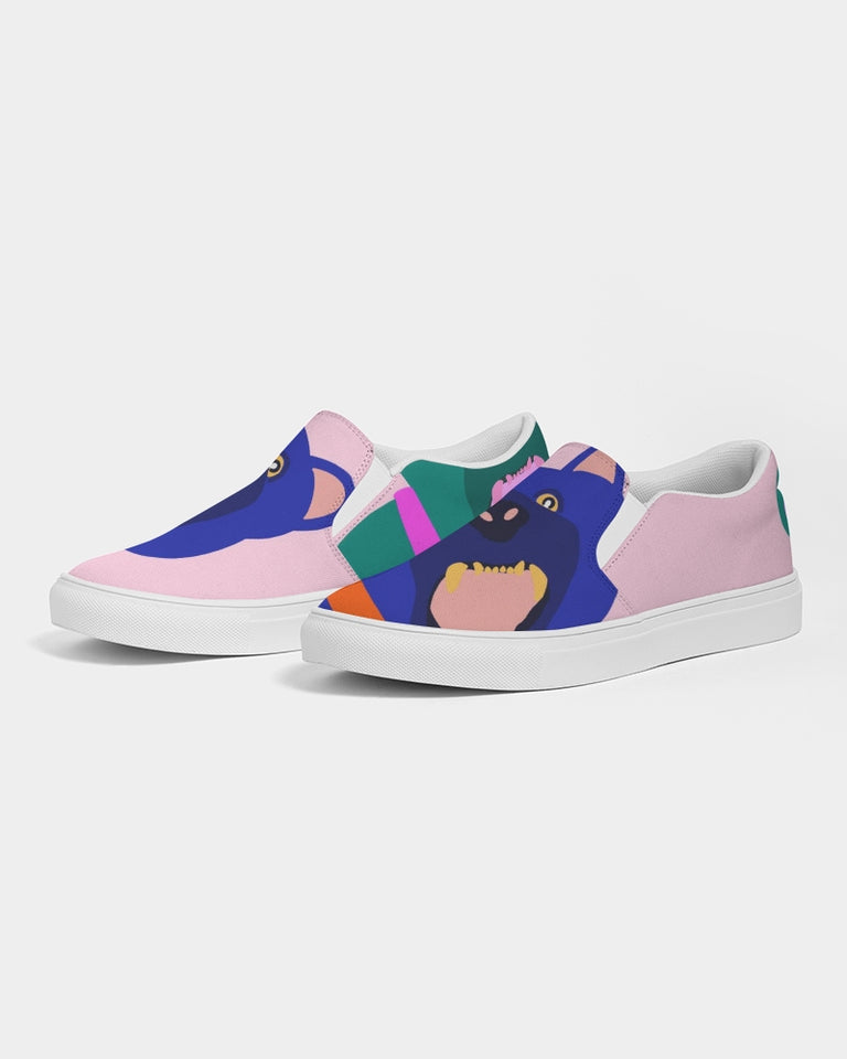 Panther - Women Slip-On Canvas Shoe - Manda Baby