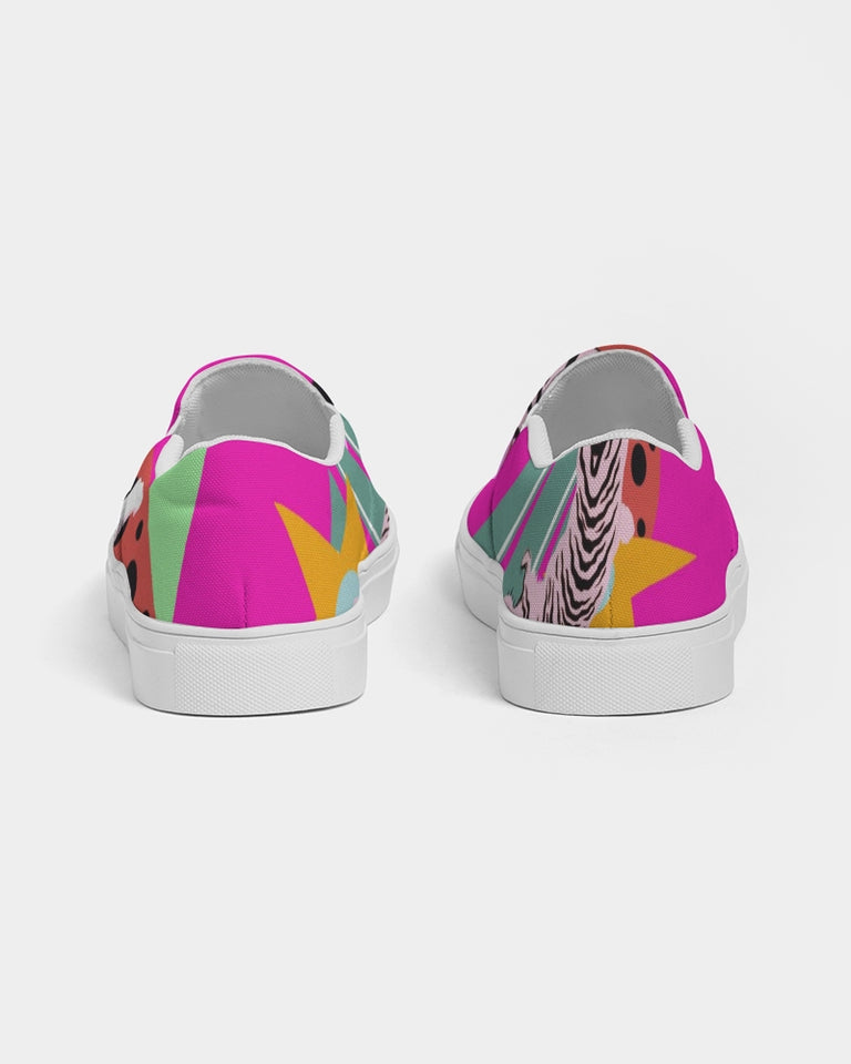 Harimau - Women Slip-On Canvas Shoe - Manda Baby