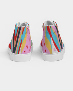 Flutters - Hightop Canvas Shoe - Manda Baby
