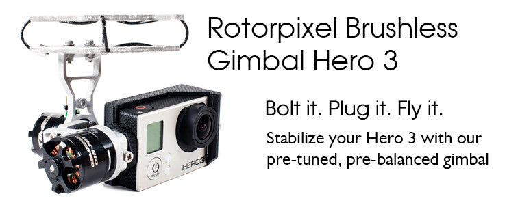 Rotorpixel Brushless Gimbal Hero 3